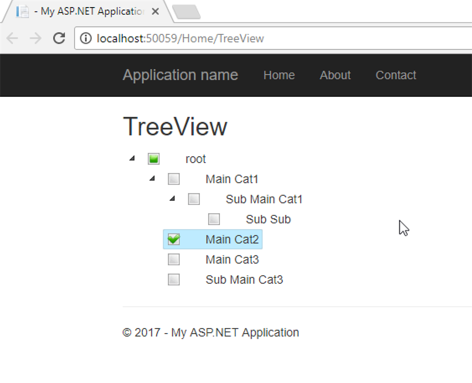 TreeView Component for MVC5 C# asp net - Jameel Nabbo